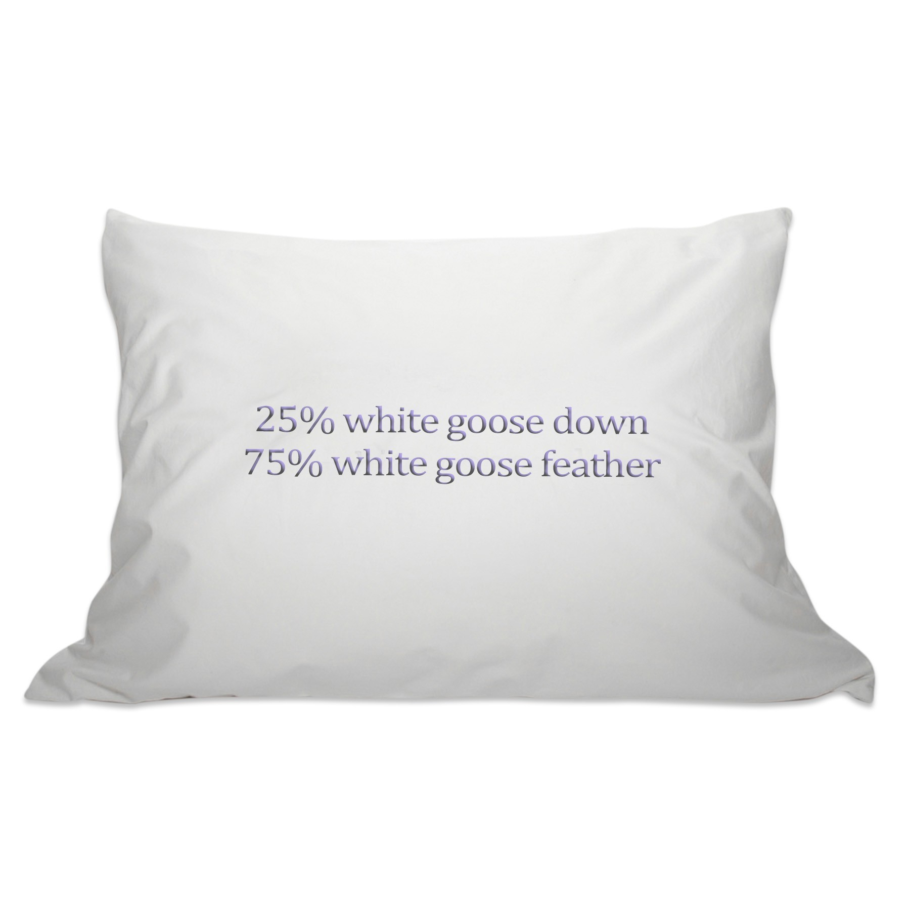 Goose Feather Pillows Animal Welfare : Down Pillow - 25/75 Goose Down and Feather Pillow - goose down pillow, feather pillow, feather ...