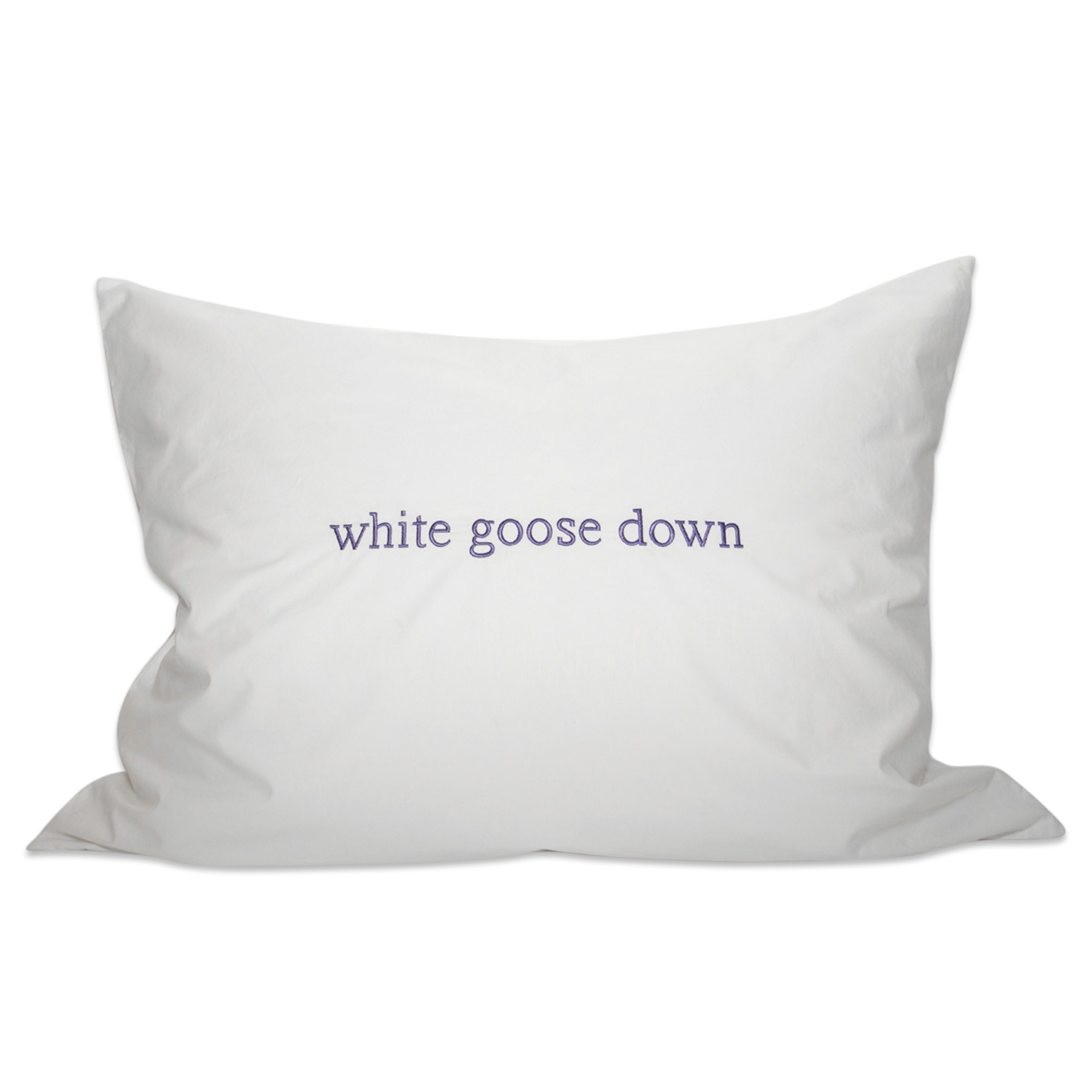 Goose Down Throw Pillows : Down Etc. White Goose Down Pillow 650 Fill Power